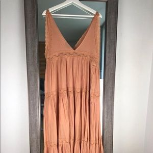 Vici collection maxi dress M
